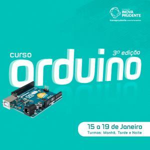Inova está com vagas abertas para terceira turma do curso de Introdução ao Arduino