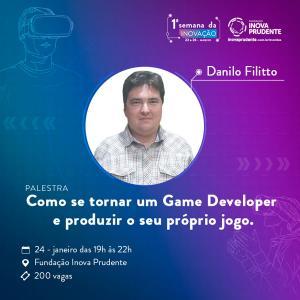 Semana da Inovação de Prudente terá palestra e minicurso sobre Game Developer