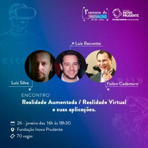 Encontro de empresários abordará realidade aumentada e virtual na Semana da Inovação