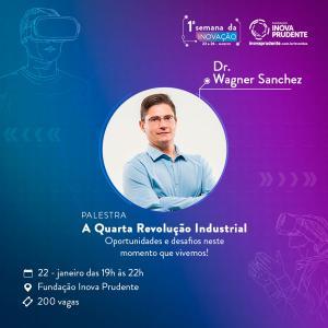 Quarta revolução industrial é tema de palestra na abertura da Semana da Inovação